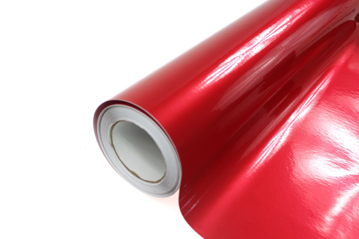 Folia Wrap Red Metalic 1,52X20m - GRUBYGARAGE - Sklep Tuningowy